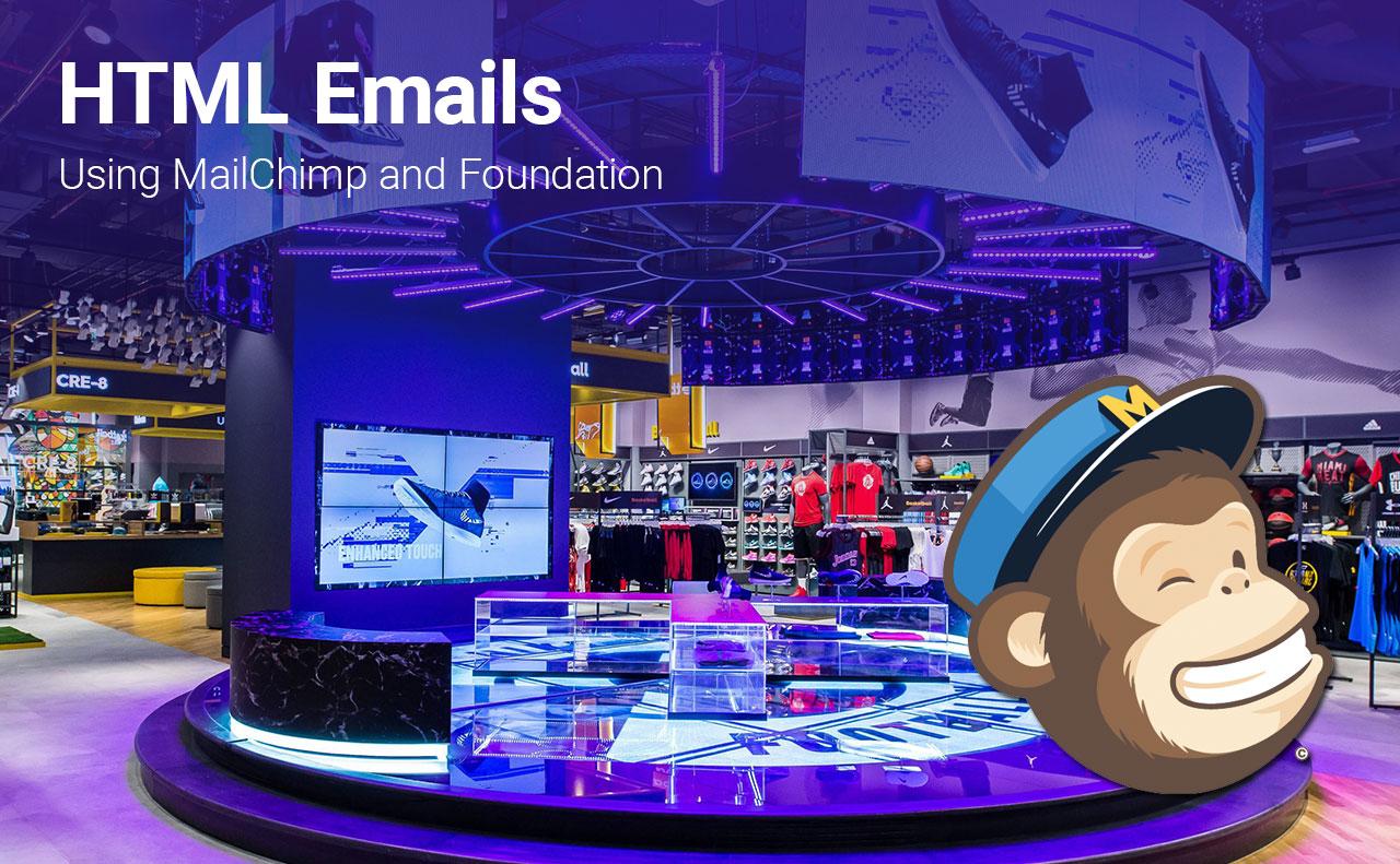 HTML emails using MailChimp